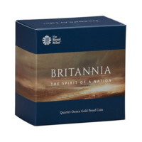 Britannia 2019 monedă din aur proof 1\/4 oz