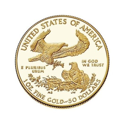 Vulturul american 2019 monedă din aur proof 1 oz