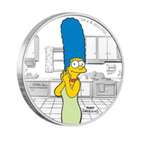 Marge Simpson monedă dn argint 1 oz Proof