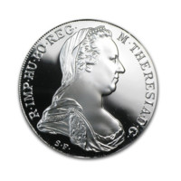 Thaler Maria Theresa din argint PROOF